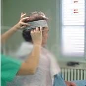 Vorbereitung der Haartransplantation - Vorbereitung des Spenderbereiches